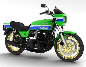 Kawasaki Z1000R 1981 3D model