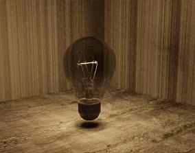 3D asset Basic Lightbulb