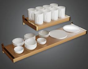 3D model Modern Shelf - AV2