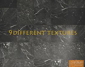 Black marble FAP-Grafite-multi texture coronavray 3D model