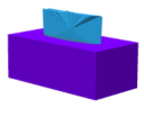 Tissue box 3D model