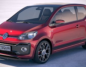 Volkswagen UP GTI 3-door 2018 3D