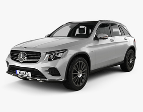 Mercedes-Benz GLC-class X205 AMG Line with HQ 3D model 1