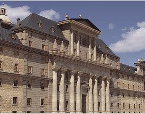 3D asset El Escorial