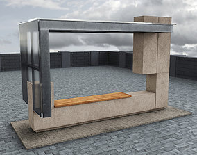 realtime 3D Bus Stop v2