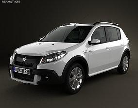 Renault Sandero Stepway BR 2011 3D model