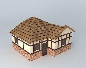 European Cottage 3D