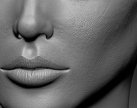 3D asset Head detail Female