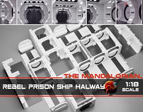 3D printable model The Mandalorian - Rebel Prison Ship 3