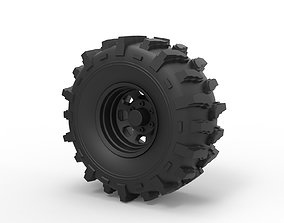 Diecast Offroad wheel 19 3D print model