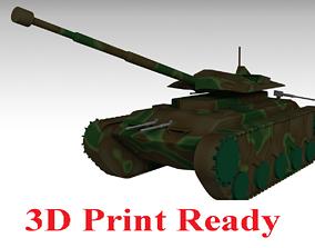 3D print model Military Tank