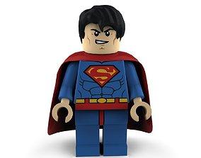 3D model Superman Lego