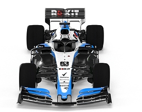 3D model F1 Williiams FW42 2019