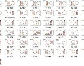 61 Women bracelets jewelcad jcd render detail 3D print 1