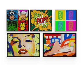 3D Pop Art Wall Decoration 1