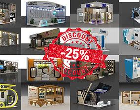 25 3d Models of Exhibition Stall 3D Model 3D Model