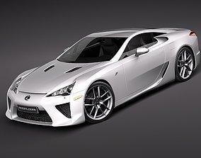 3D racer Lexus LFA