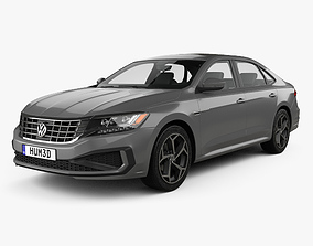 Volkswagen Passat R-Line 2019 3D model