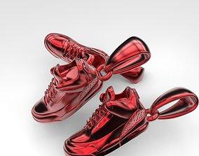 3D print model sneakers pendant