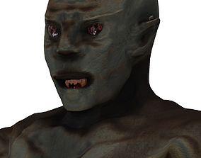 3D model rigged Monster