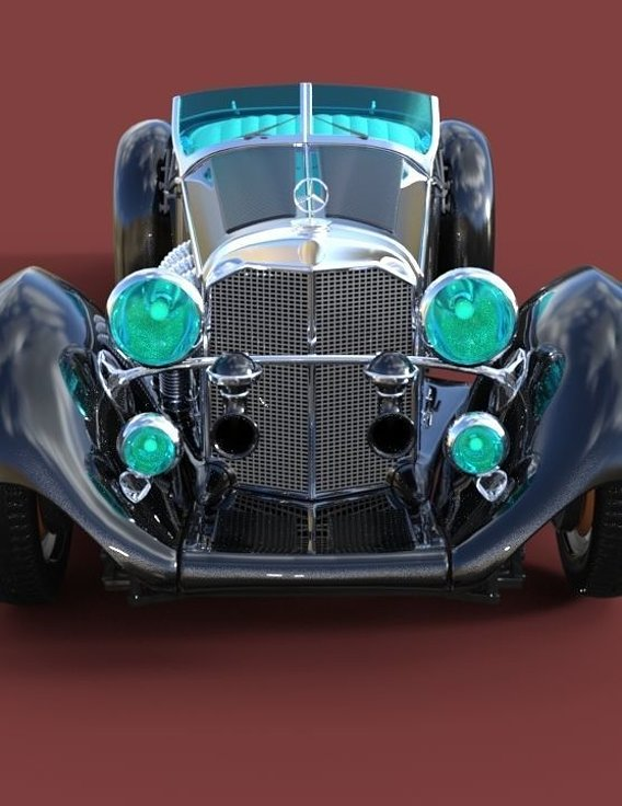mercedes benz ss roadster 1930