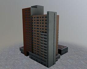 Prague Building1 3D asset