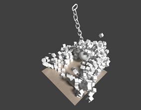 BLOCK ANIMATION RIGID BODY 3D