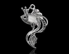 3D printable model Pendant goldfish