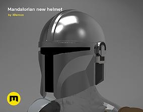 3D print model The Mandalorian Helmet - Star Wars