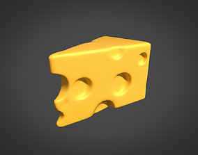 3D model realtime brie Cheese