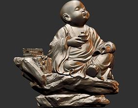 buddhism Little Monk 003 3D Print model