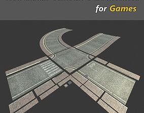 Modular Streets Pavement 3D asset