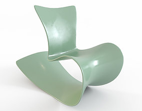 3D model seat furniture chair