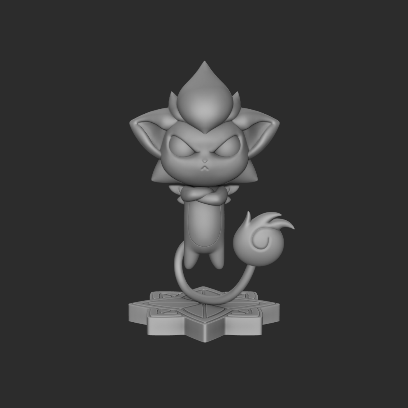 Shisa from League of Legends (Star Guardian Universe)