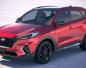 3D model Hyundai Tucson N-Line 2019