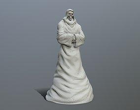statue 3D print model