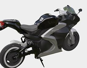 Motorbike Nahak p 14 3d model AR VR motorcycle