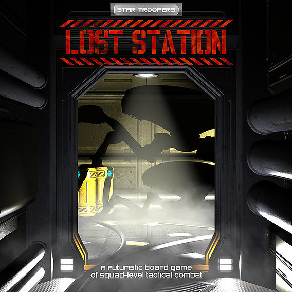 Star Troopers: Lost Station - Cover