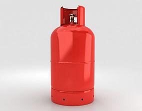 pressure Gas Cylinder 3D model