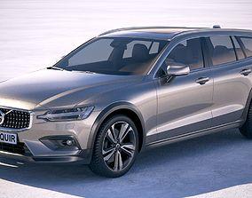 3D model Volvo V60 Cross Country 2019