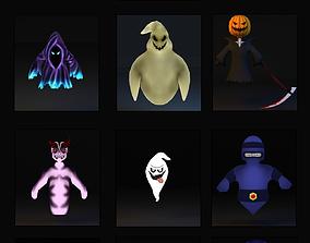 3D asset Ghost Pack