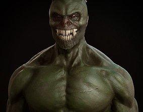 man 3D print model Demon