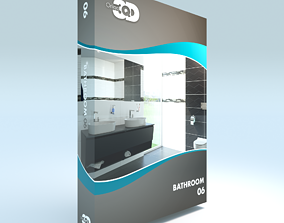 3D model realtime Bathroom 06