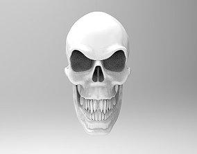 Evil Skull 3D printable model