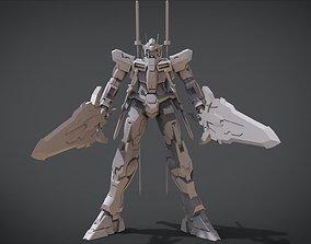 3D printable model Tsurugi Gundam