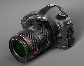 Canon EOS 5d Mark III Photo Camera 3D