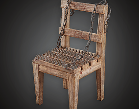 MVL - Torture Chair - PBR Game Ready 3D asset