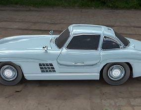Mercedes Benz 300 SL Gullwing AMG 1955 3D model