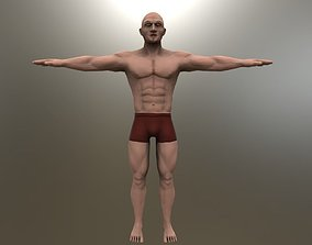 Stylized Man body 3D model