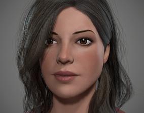 Female Realtime 3D asset